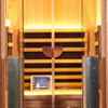 1-Person clearlight Sanctuary Full Spectrum Sauna Cedar thumb 1