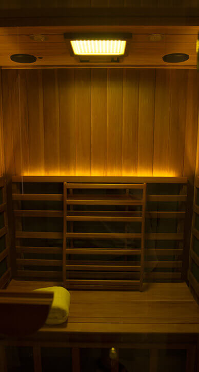 Infrared Sauna - Color Light Therapy(Yellow)